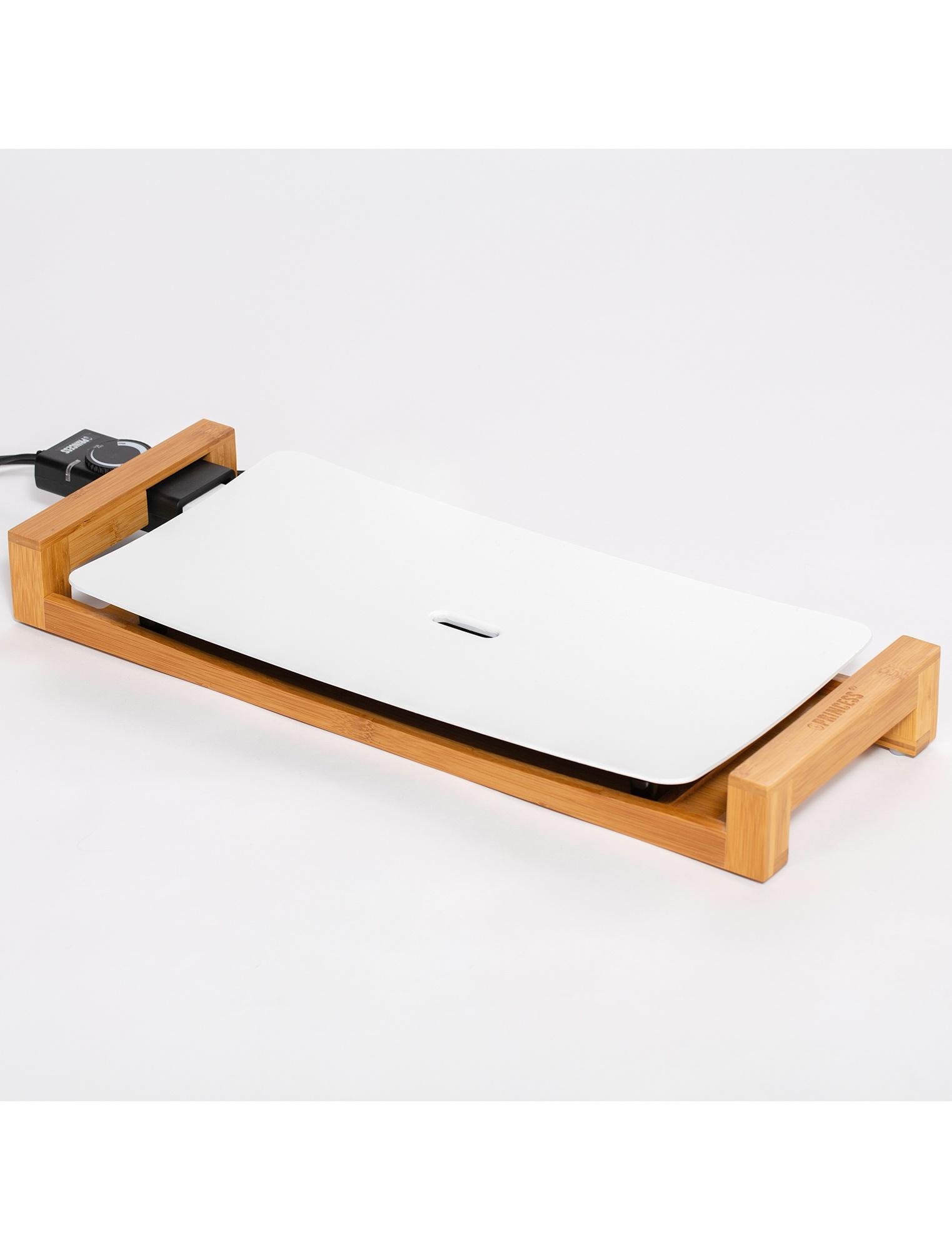 白いホットプレート/テーブルグリルピュア