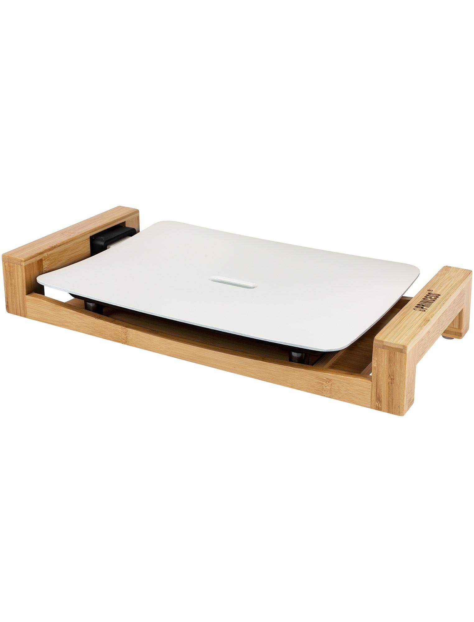 白いホットプレート/テーブルグリルミニピュア
