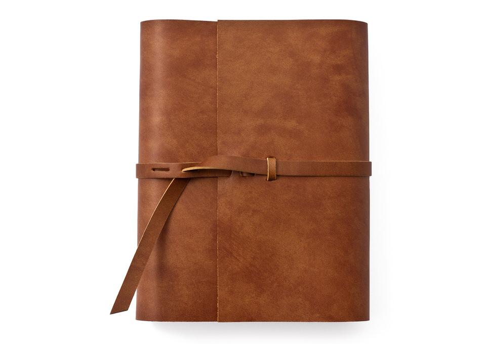 革の手帳_アンティークブラウン