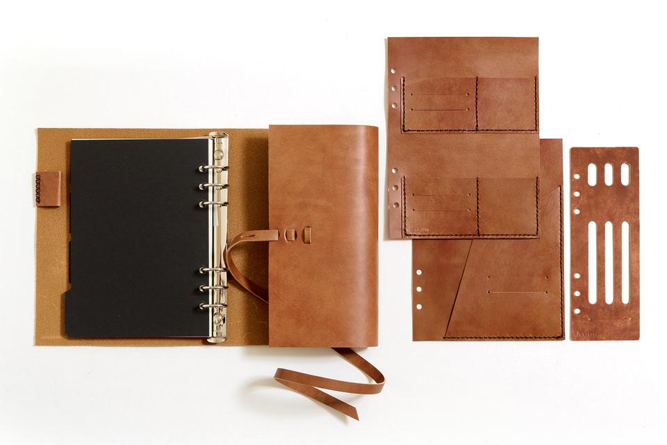 革の手帳_ブラウン_リフィル