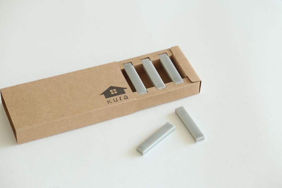 箸や食器をひきたてるシンプルな箸置き(5本セット)