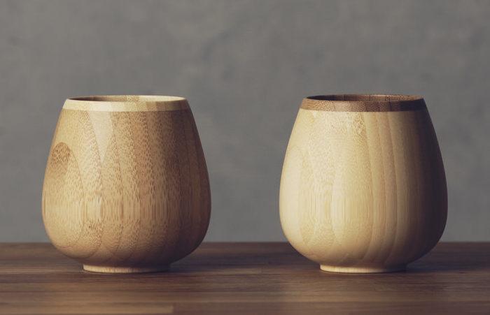 天然竹のグラスシリーズ