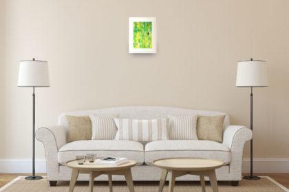 お部屋に小さなアート空間