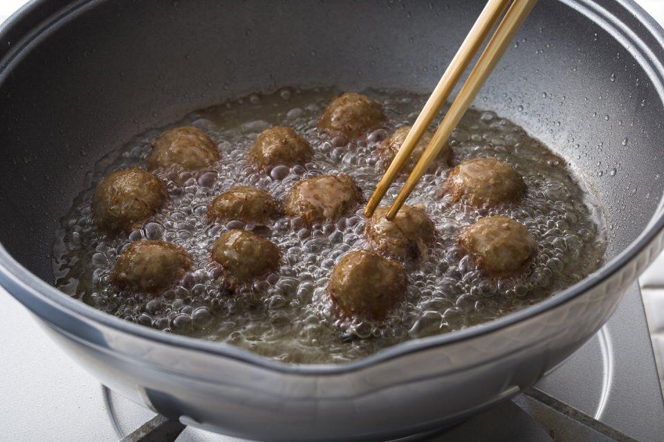 無水鍋で作る揚げ物