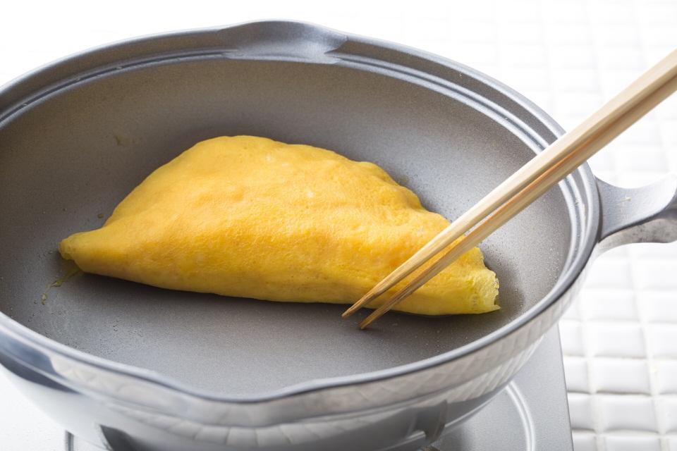無水鍋で作る卵料理