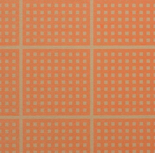 チェックオレンジ
