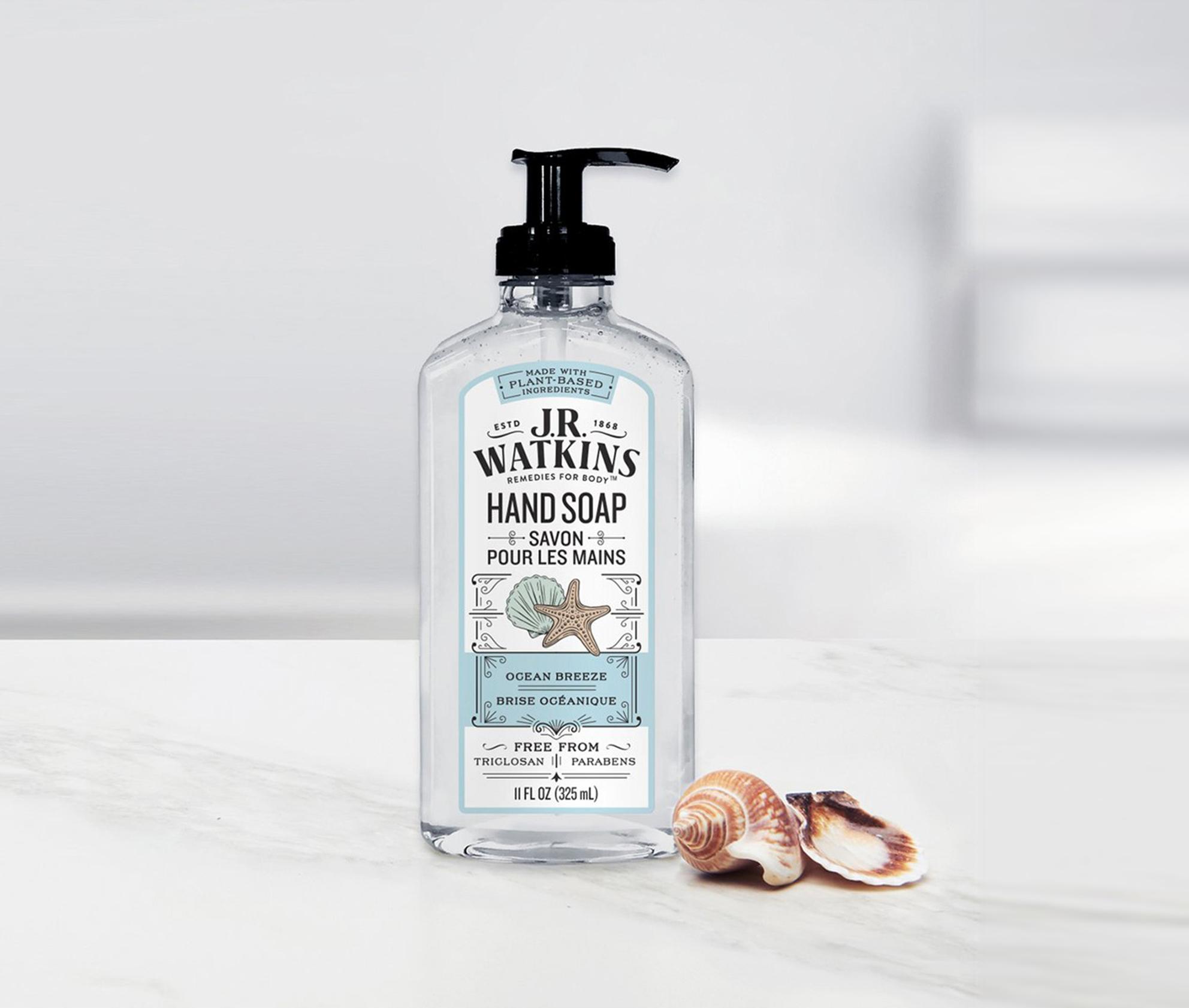 優しい香りで手洗いが楽しくなる