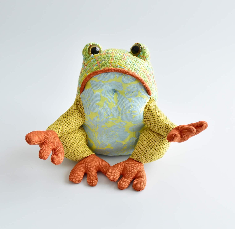 ラパッチワーク カエル