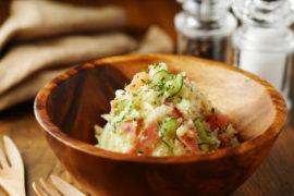ポテトサラダを簡単に調理