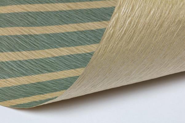 コンパクトな紙製ラグ