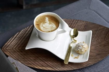 洗練された使い心地のコーヒーカップ