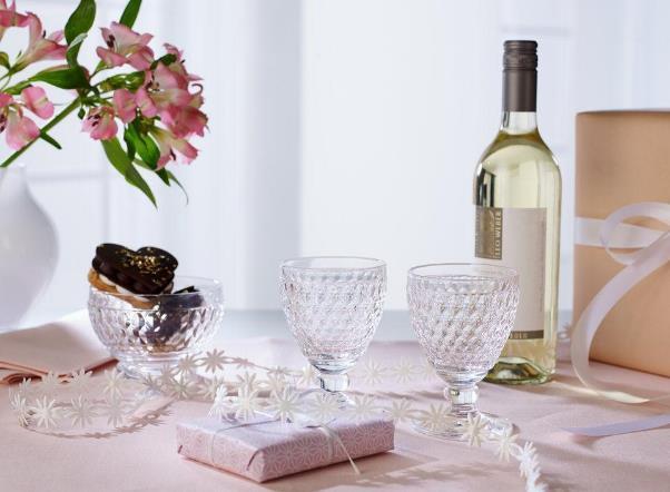 気負わず使える上品な形のワイングラス