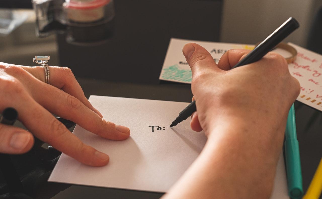 もう1人の自分に手紙を書くのもオススメ