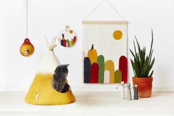 猫や小型犬にぴったりのサイズに設計