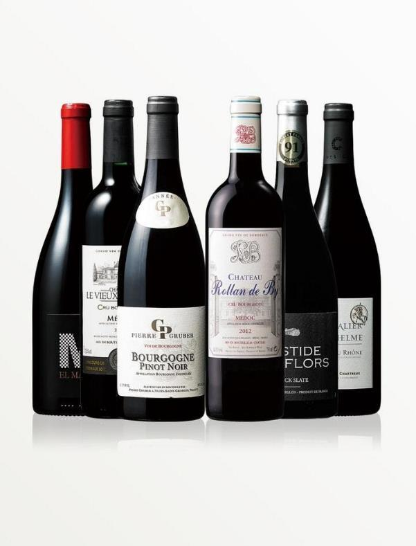 フランス産赤ワイン6本セット