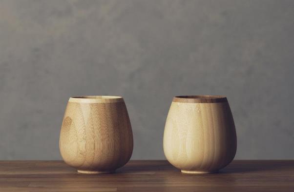 天然竹のロッキング ベッセル