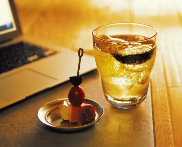 炭酸割の日本酒ハイボール