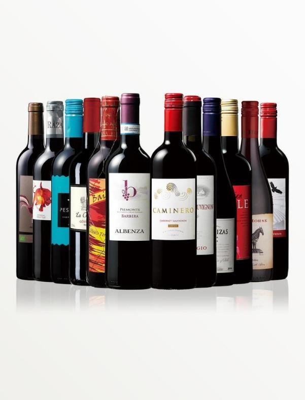 世界の赤ワイン12本セット