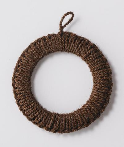 紀州棕櫚の手編み鍋敷き大