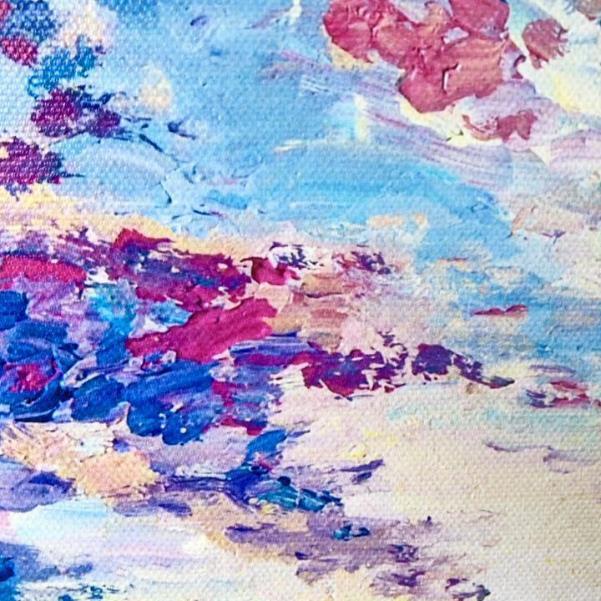 キャンバスアートがくれる癒しの空間