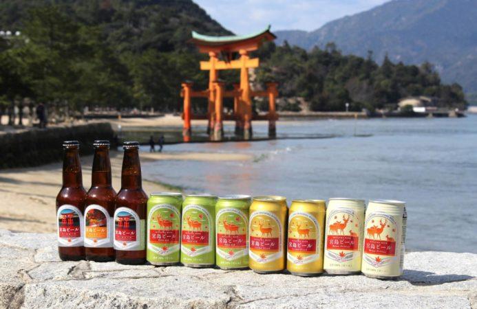 お家にいながら広島に行った気分が味わえる宮島ビールの飲み比べセット