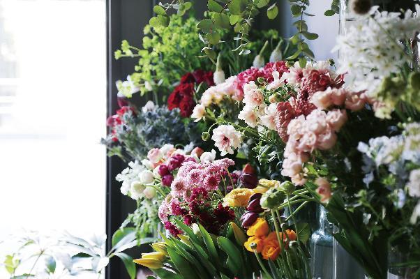 自宅に毎月花が届く定期便