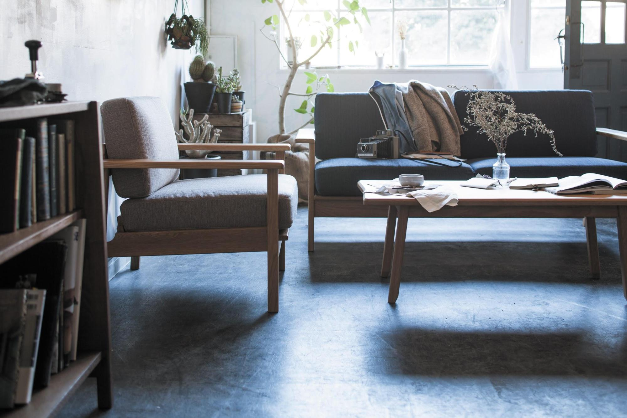 マージ センターテーブルと相性のいいソファ