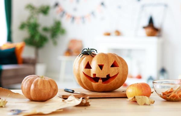 かぼちゃは定番アイテム