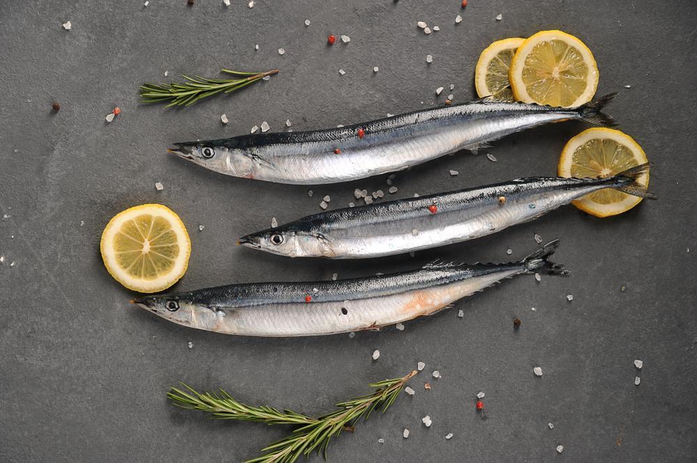 塩焼でも十分美味しい秋刀魚