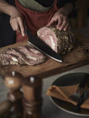 一般的な包丁の刃渡りより長いからより使いやすい