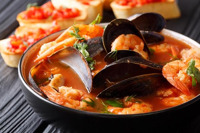 魚介類と野菜を一度に摂れるので、栄養もたっぷり