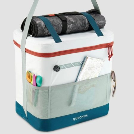 抜群の保冷力。COMPACT FRESH 25L ベルデグリと専用 防水内バッグ