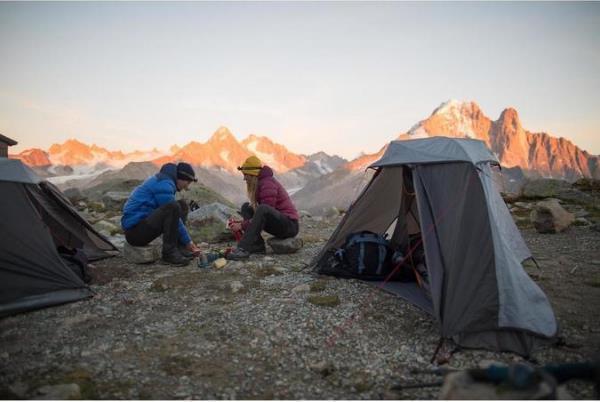本格的なキャンプ道具
