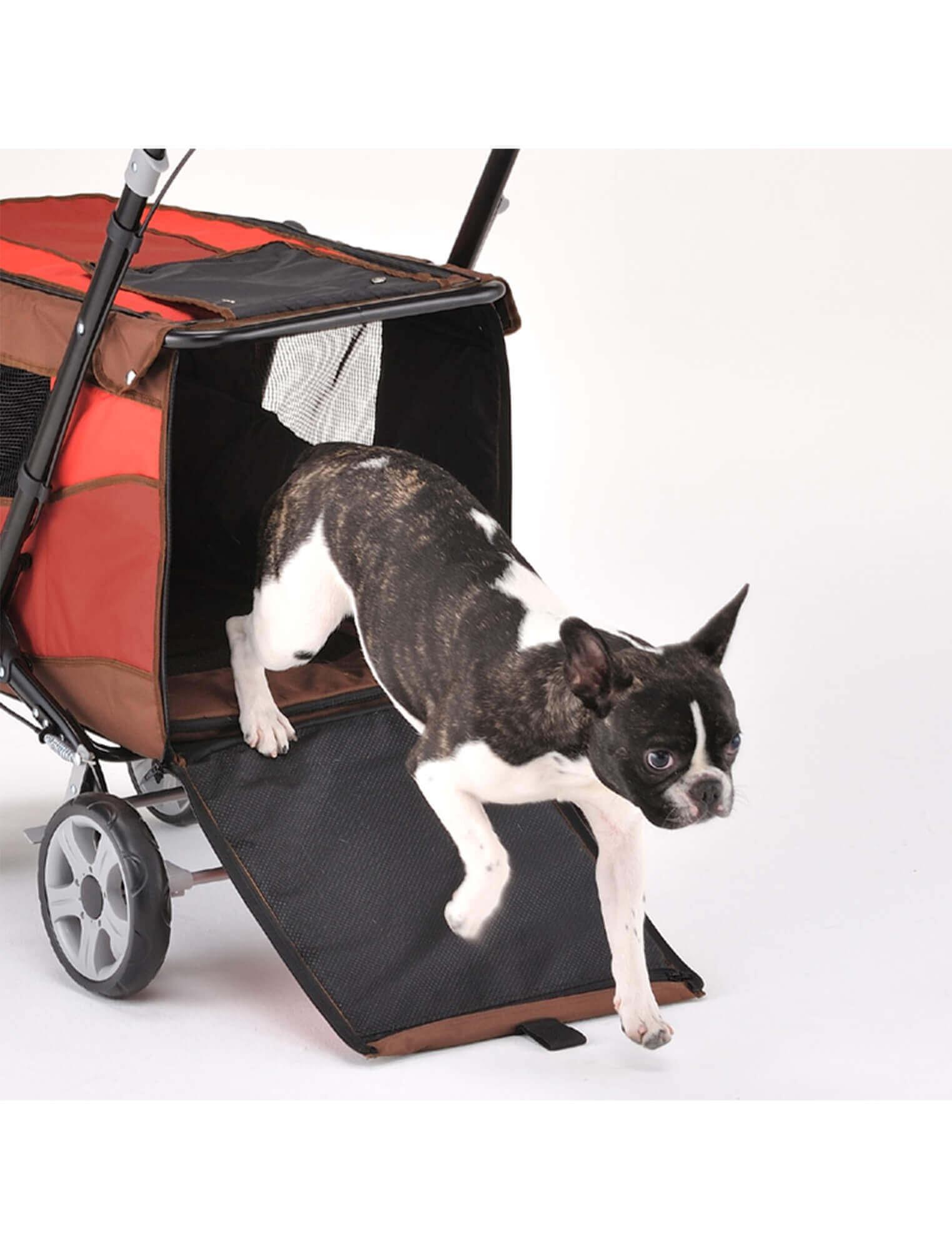 キャリーバッグでは運べない大きめの子も楽に運べます
