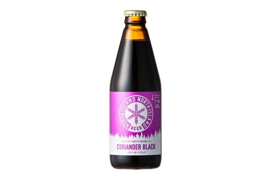 深い味わいの黒ビールと、コリアンダーのコラボレーションが面白い一本