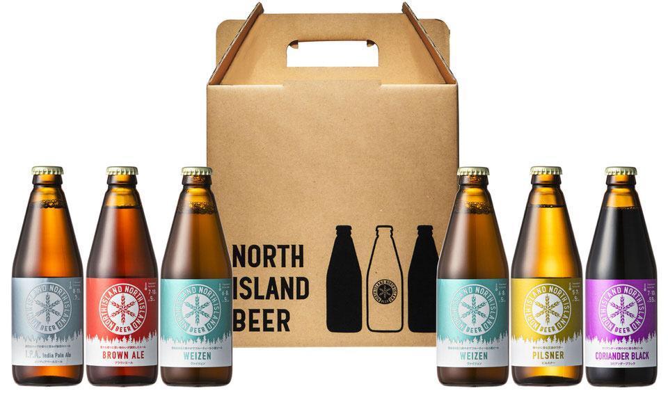 ノースアイランドビール 飲み比べ6本セット