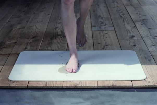 お風呂まわりを快適にしてくれる。珪藻土バスマットsoil