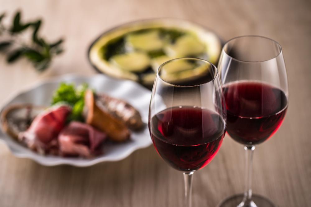 ワインに合う秋の味覚で舌鼓
