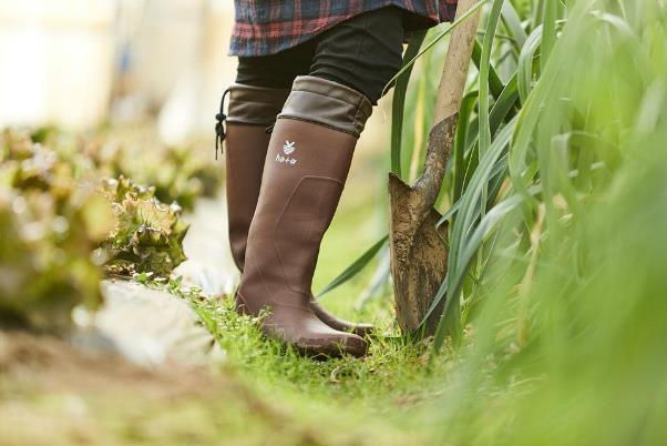 どんな天気でも持ち歩きたい。やわらかロングブーツ