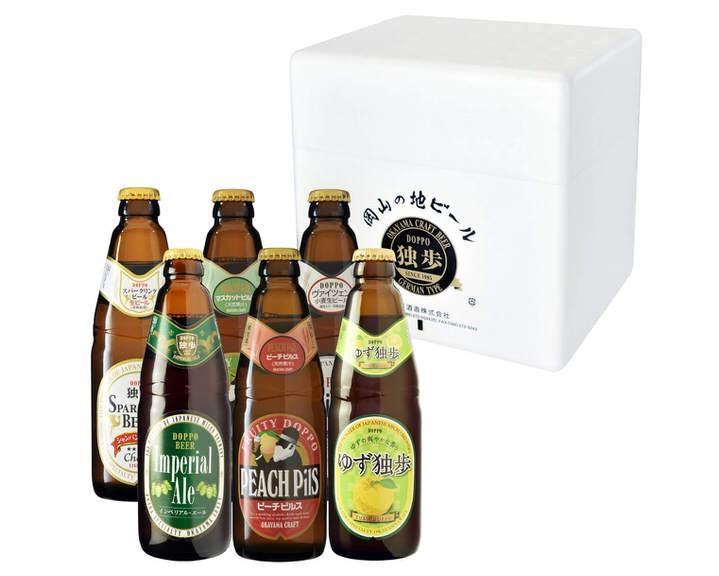 独歩ビール・フルーツ発泡酒詰め合わせ6本セット
