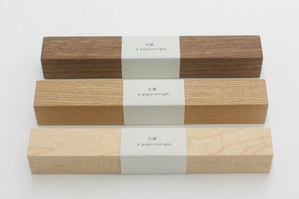 木製のペーパーウェイト