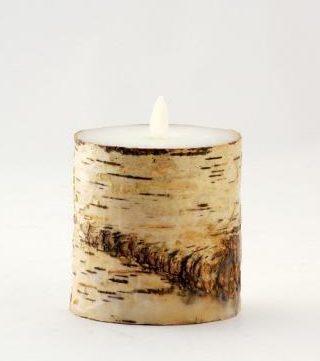 白樺の皮を使ったバーチピラー
