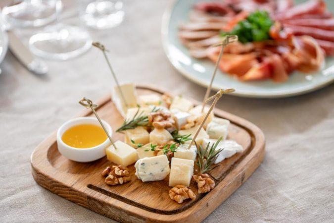 チーズの切り方