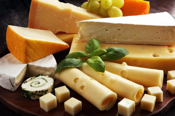 チーズにはさまざまな種類があり