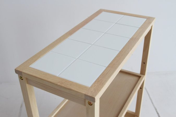 タイル製天板