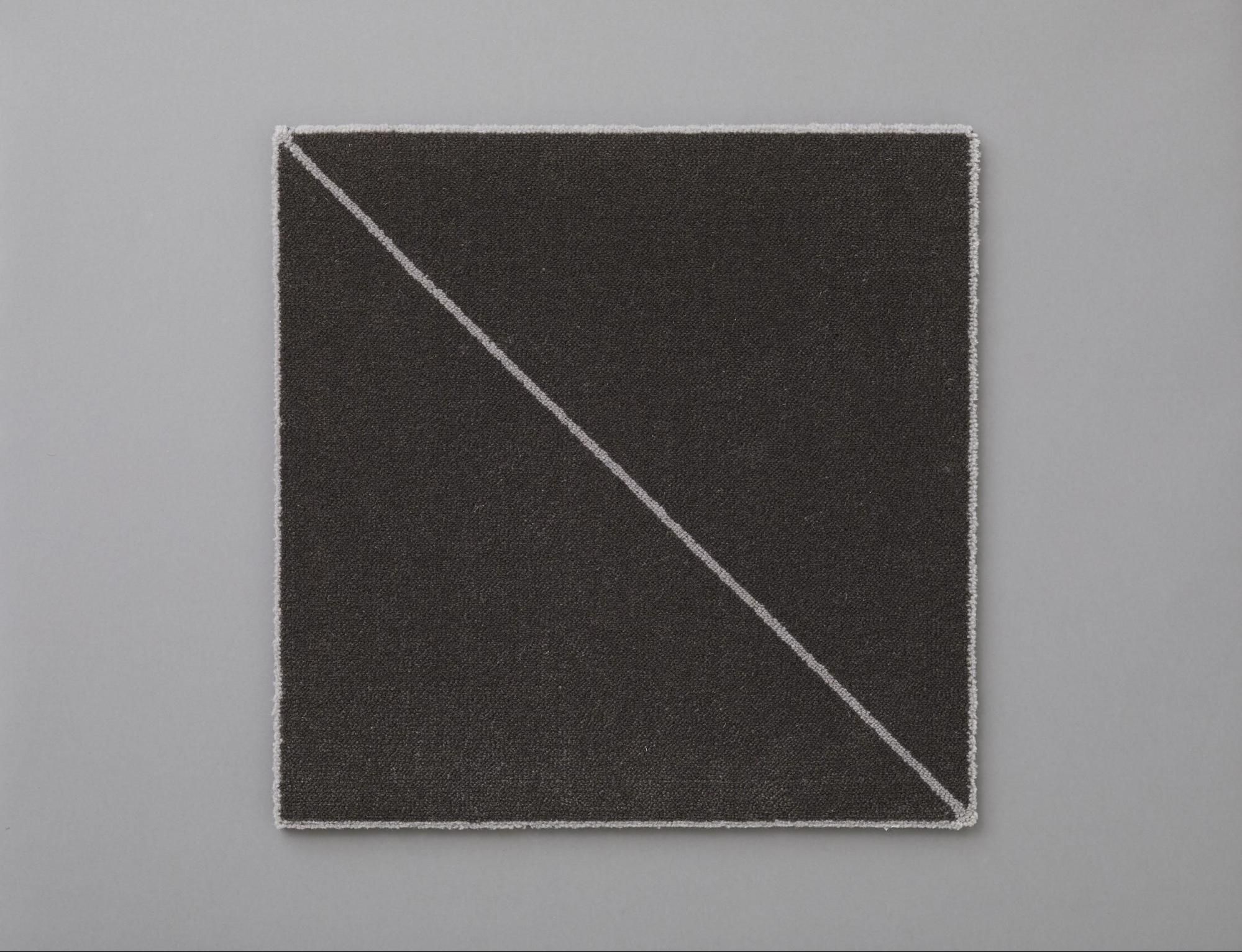 HOTTA CARPET 簡単に床をつくれるDIYカーペット_WOOLTILE スラッシュ(50×50)