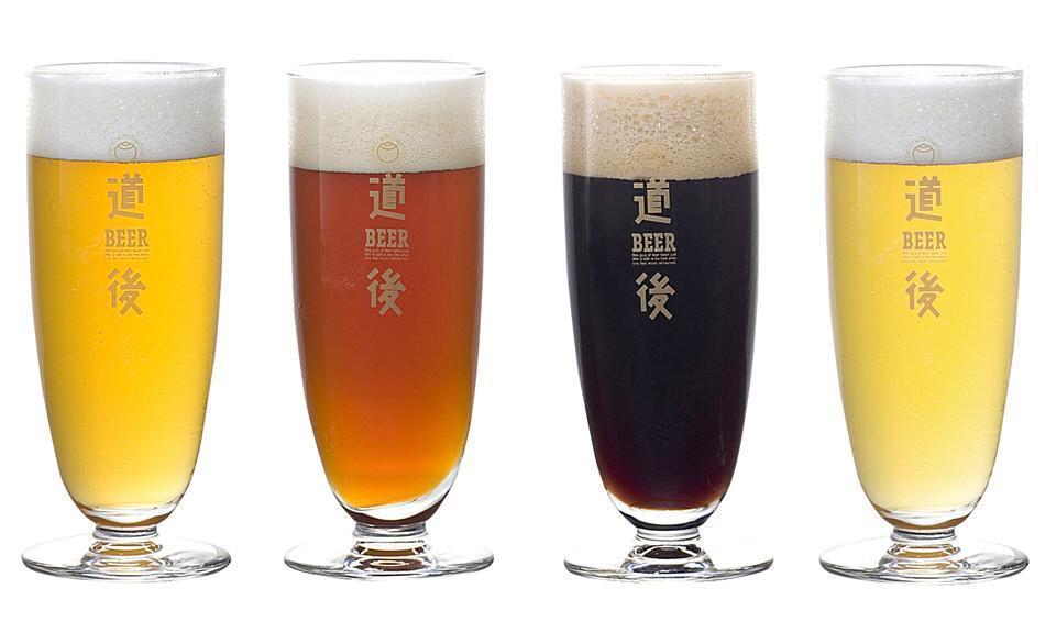 道後ビールは4種類を展開