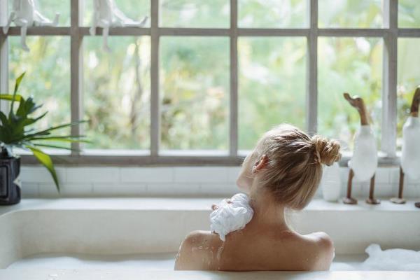 全身浴で体を温める