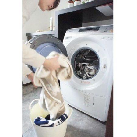 洗濯機で丸洗いできる耐久性