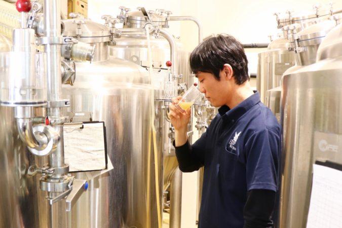ビール造りの技術